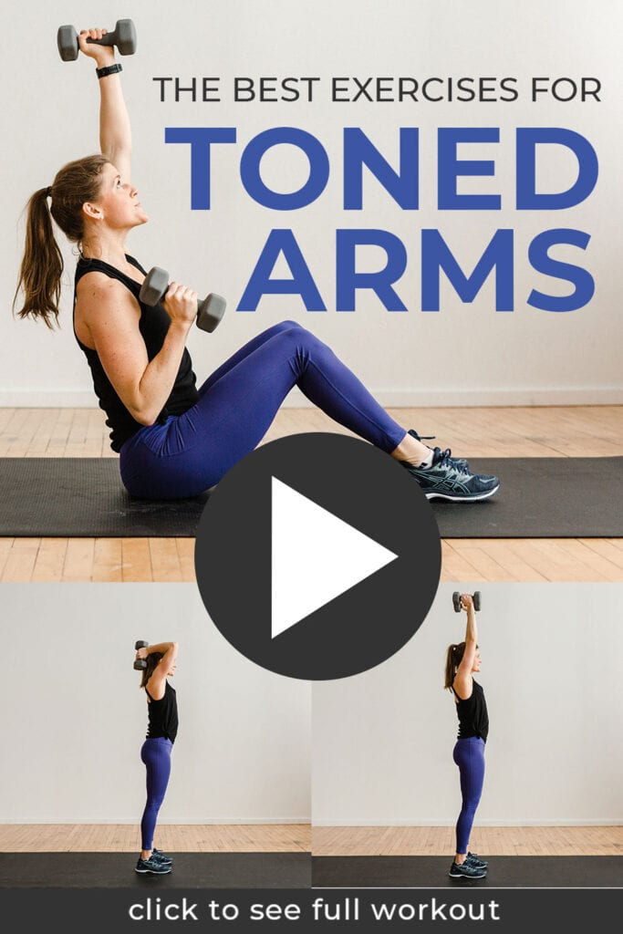 6 Best Exercises for Toned Arms