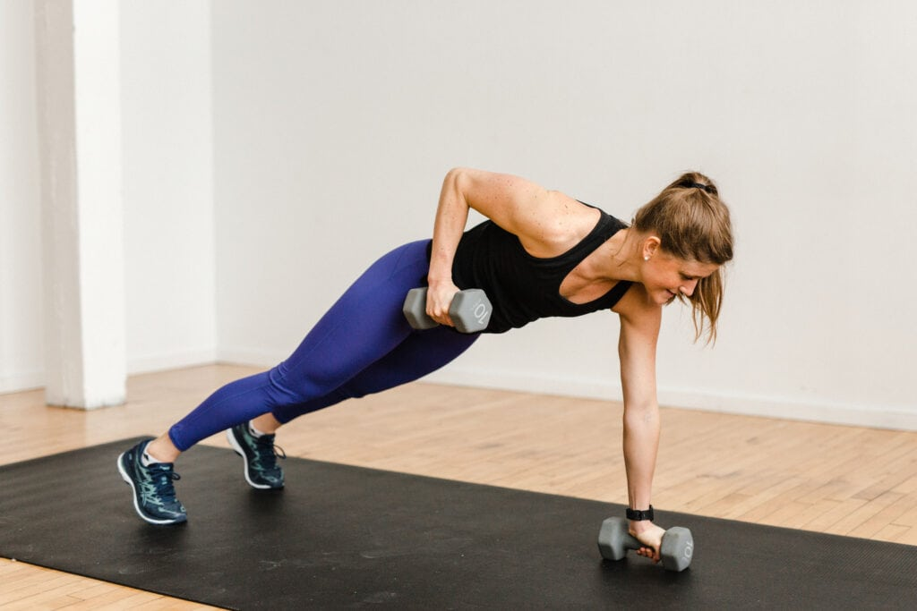 30 Minute Toned Arms Workout with Weights
