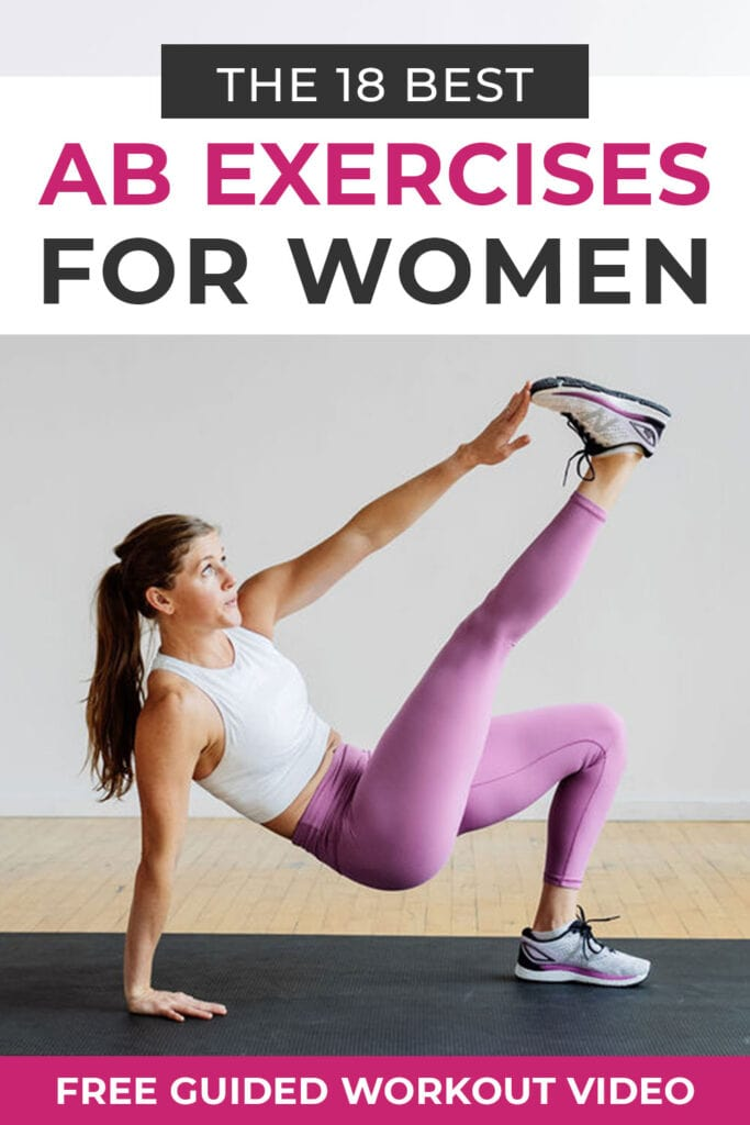 The 18 best ab exercises for women