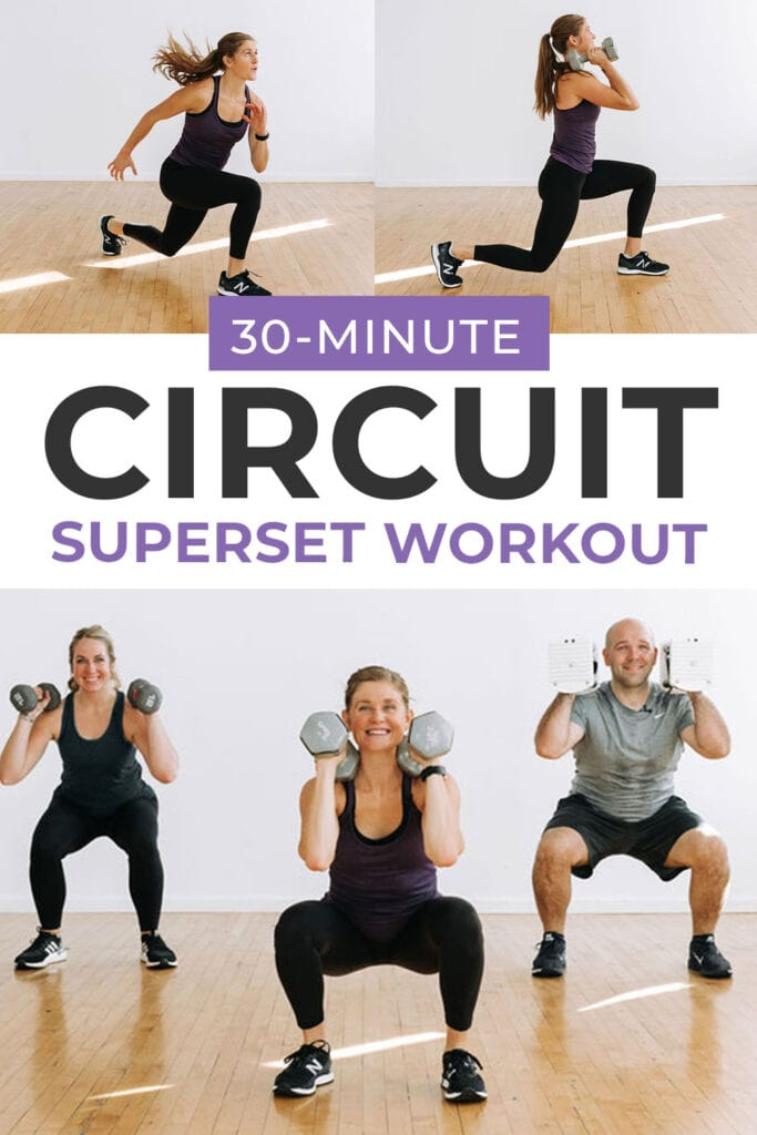 30 minute at home circuit workout