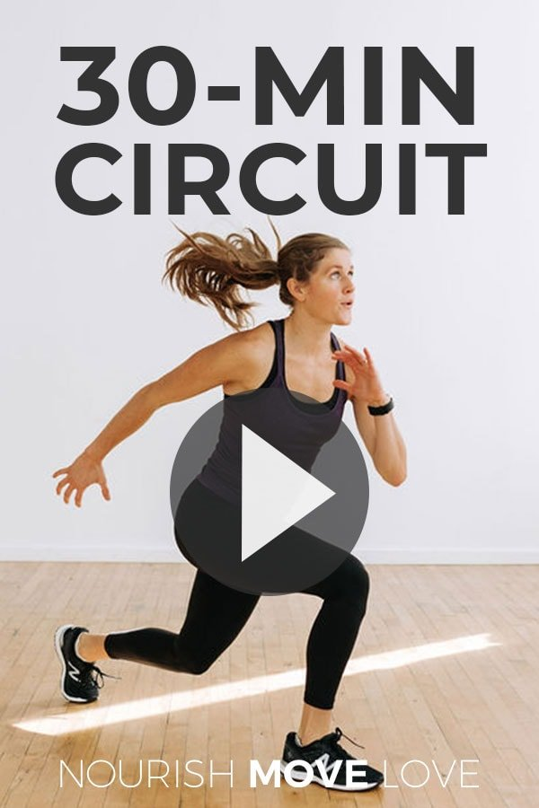 30 Minute Circuit Training Home Workout