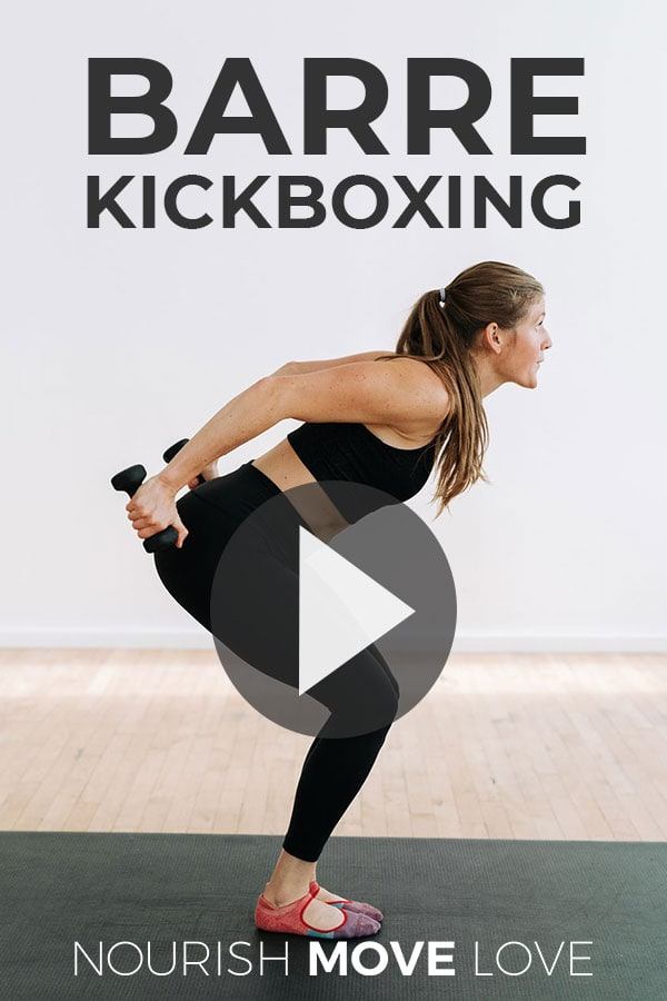 Cardio Kickboxing Barre Workout