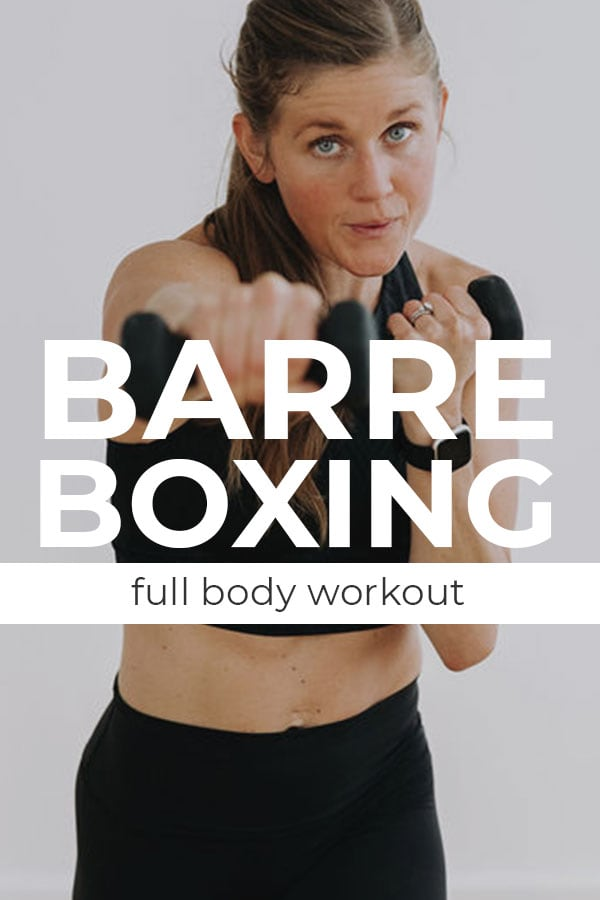 Cardio Barre Boxing Full Body Workout at Home