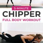 Chipper Workout Pin for Pinterest