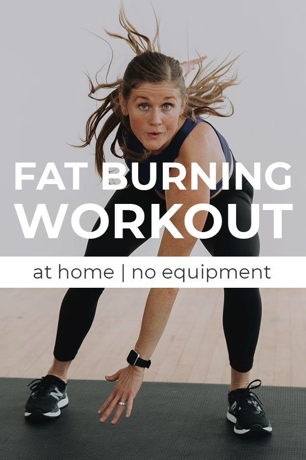 5 Minute Fat Burning Workout | Cardio workout at home