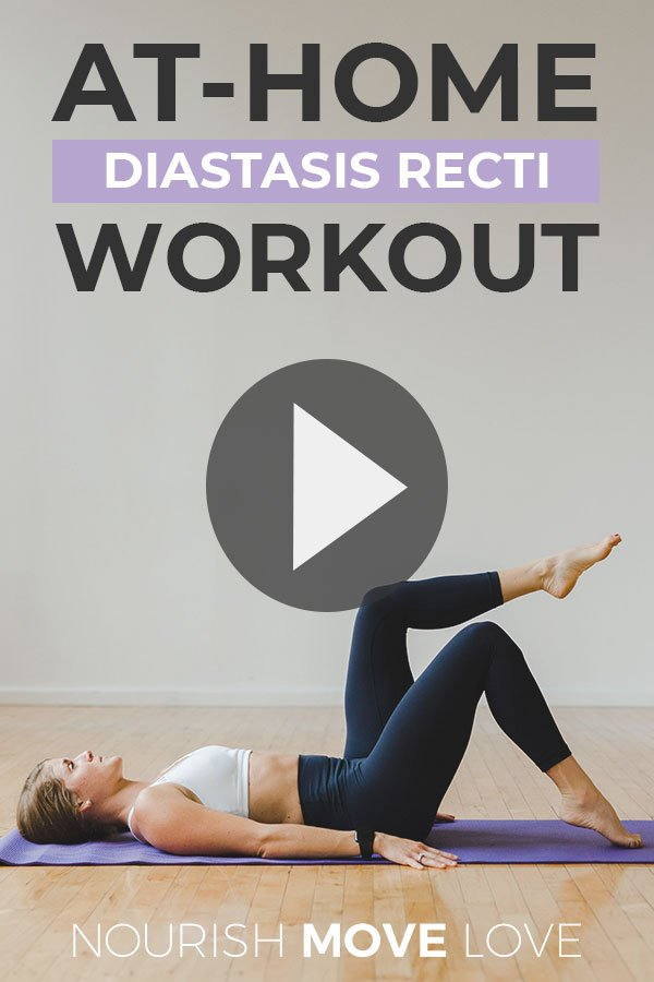 8 Diastasis Recti Exercises Post Baby Ab Workout