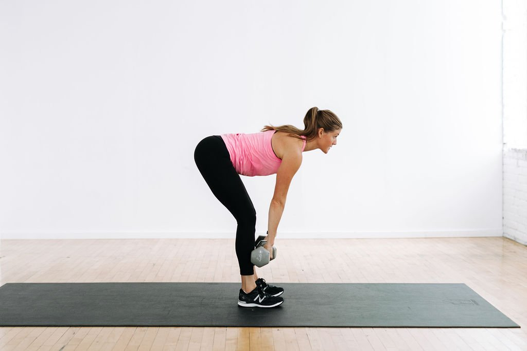 Deadlift | full body strength training at home