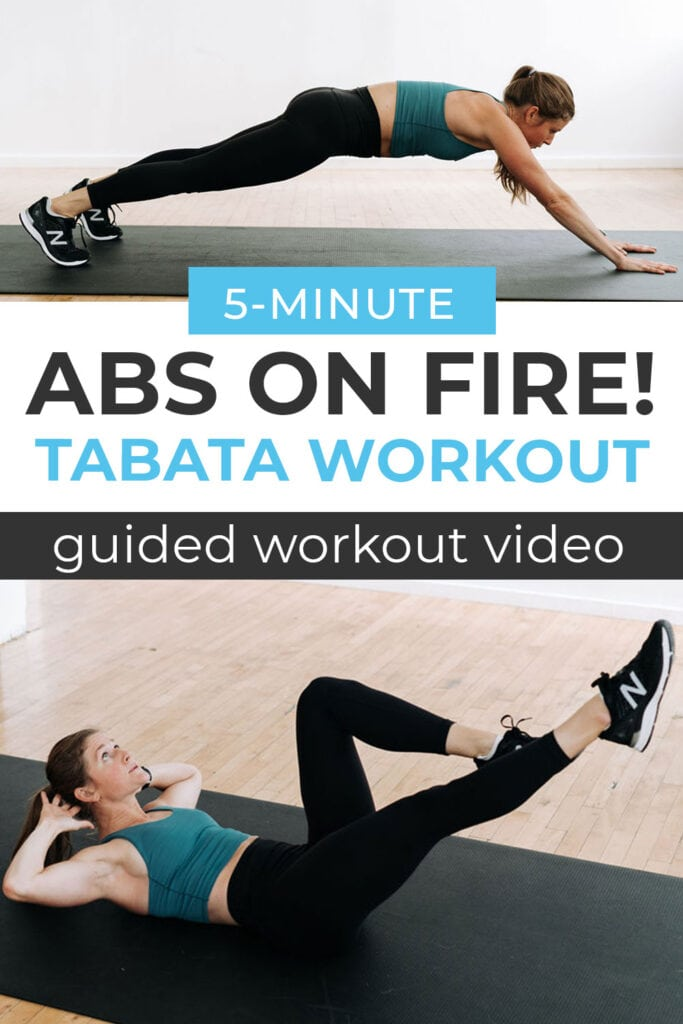 Intense 5 Minute Ab Workout Video
