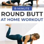 Butt Lifting Exercises Pin for Pinterest