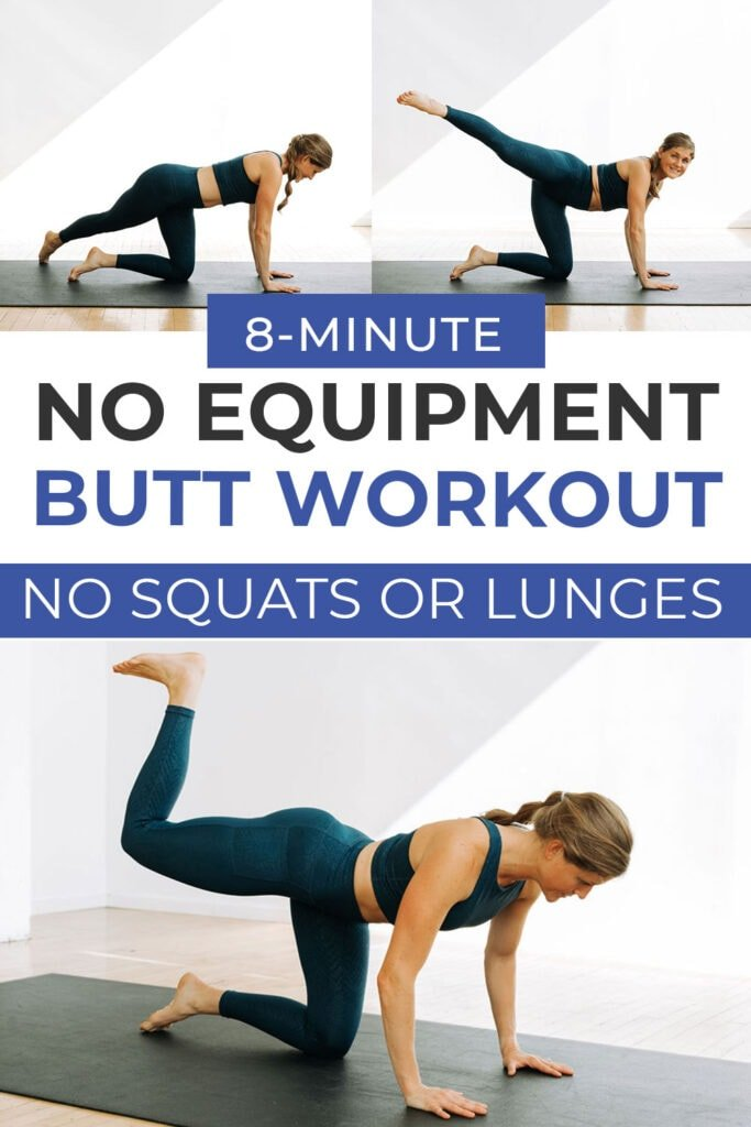 Build a Booty Workout At Home (No Equipment)