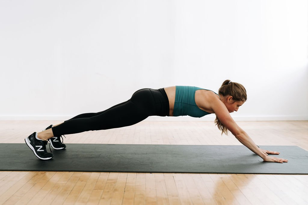 Plank Walk Out 5 Minute Abs