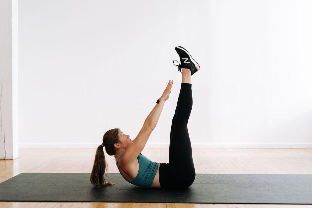 V Up Ab Exercise for killer abs