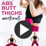 Abs Butt and Thigh Workout