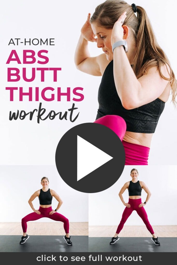 No Equipment Abs Butt and Thigh Workout