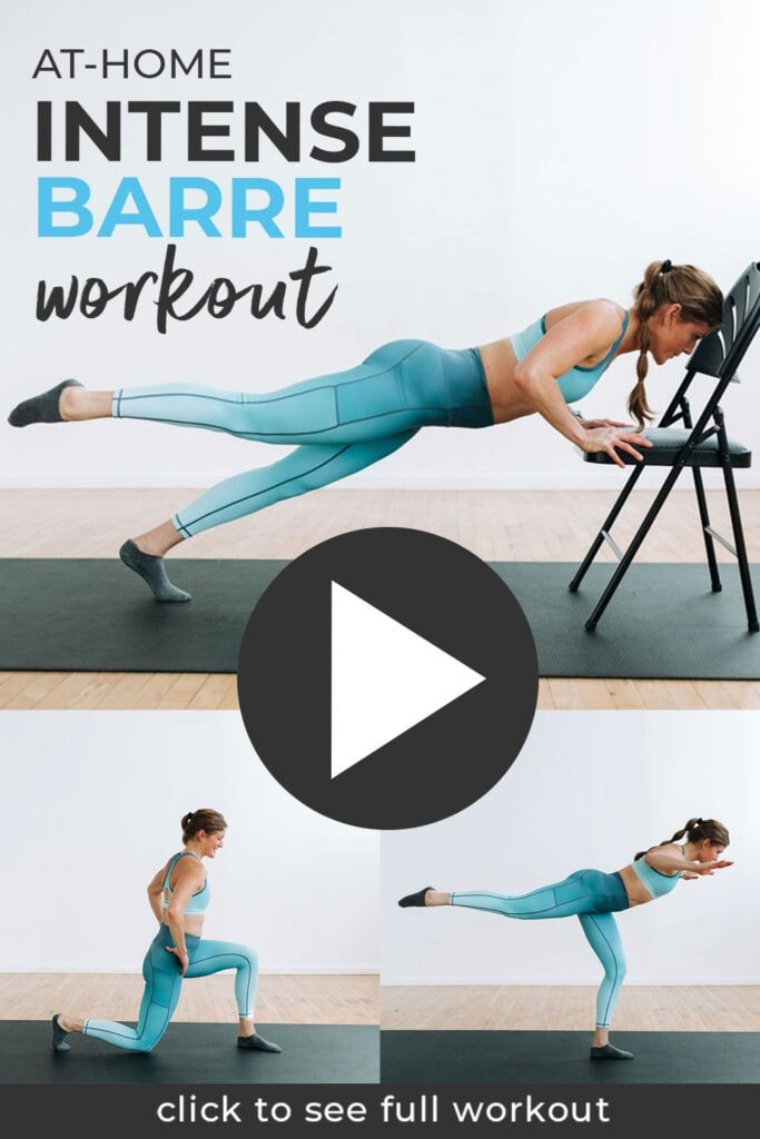 Barre Workout At Home, no equipment