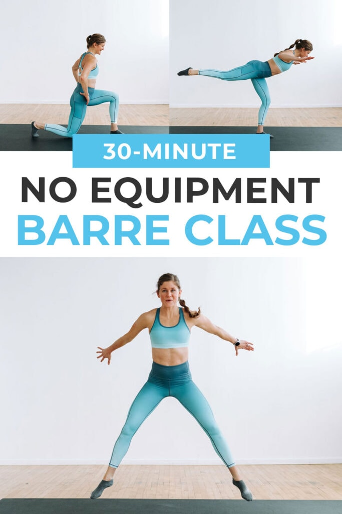 No Equipment Full Body Barre Workout At Home