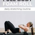 Foam Rolling Routine