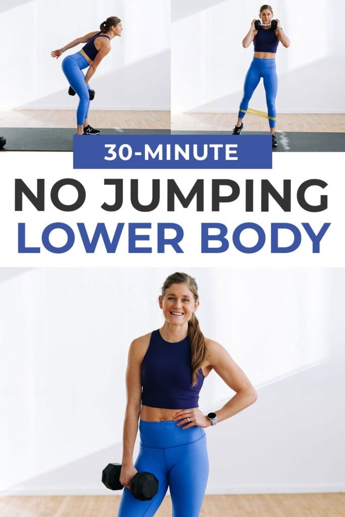 30 Minute No Jumping Lower Body Strength Workout