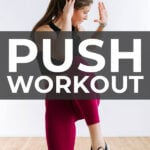 Push Workout Pin for PinterestPush Workout Pin for Pinterest