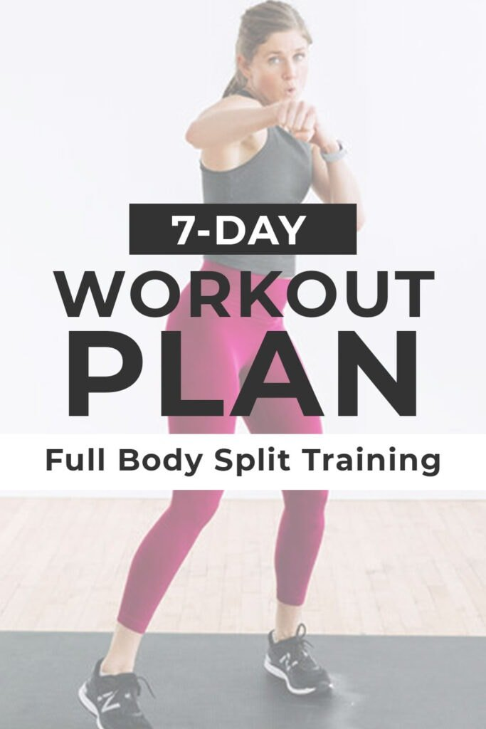 7 Day Workout Plan At Home