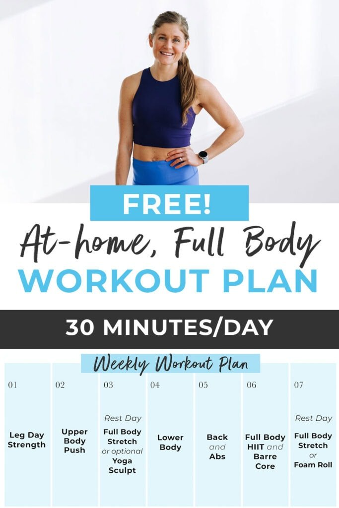 Free Full Body Workout Challenge 30 Minutes a Day
