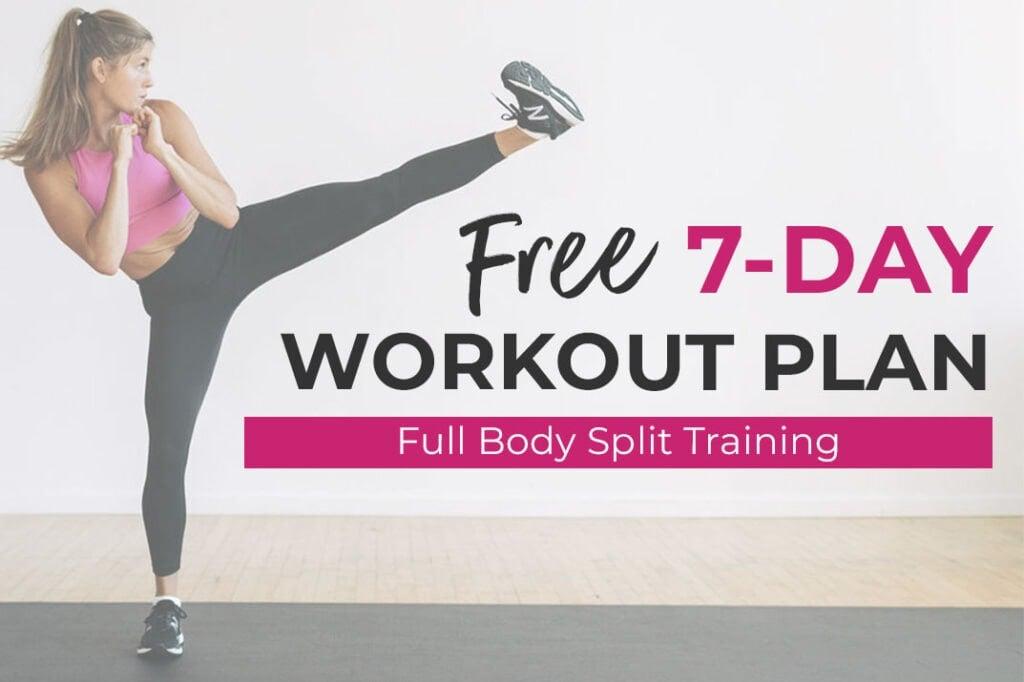Free Full Body Split Training Workout Routine