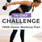 14 Day Challenge pin for pinterest