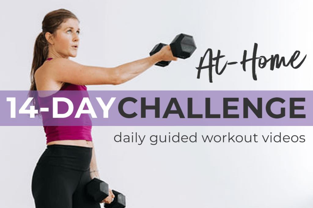 spring break workout challenge, 14 day challenge