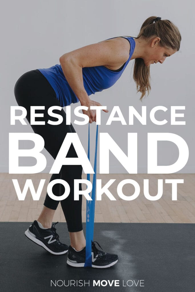 Full Body Resistance Band Workout At Home