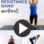 At Home Band Workout pin for Pinterest