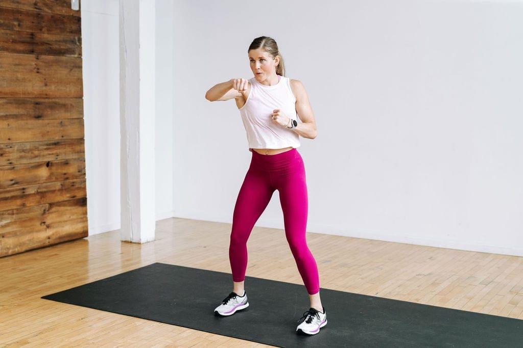 Kickboxing jabs | Cardio Workout At Home