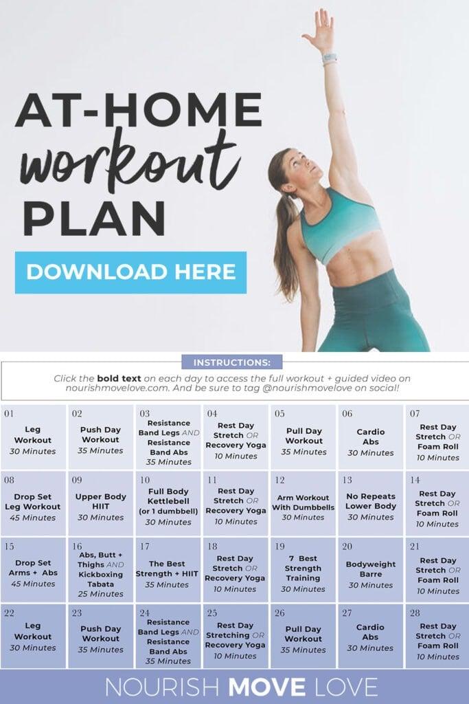 FREE Full Body Workout Plan for Women (download pdf)