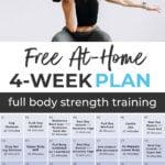Free At Home 4-Week Workout Plan