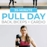 Pull Day Workout Pin for Pinterest