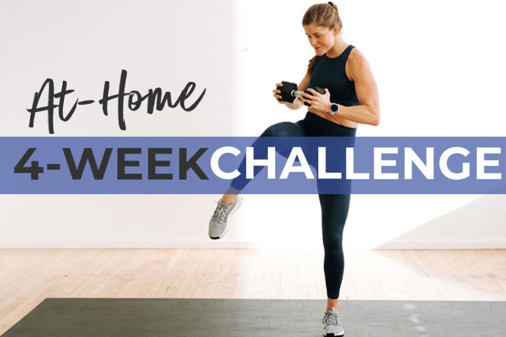 Free 4-Week Workout Challenge for Women