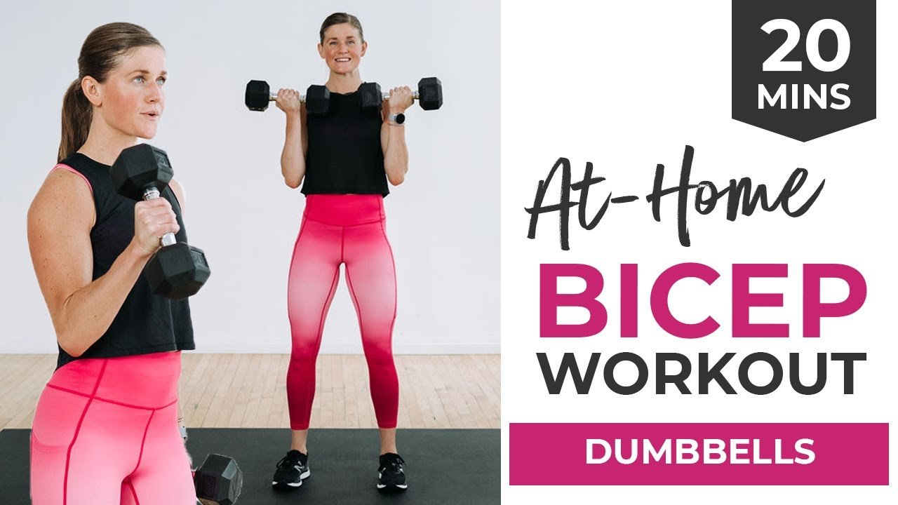 5 Best Bicep Exercises (20-Minute Dumbbell Bicep Workout At Home)
