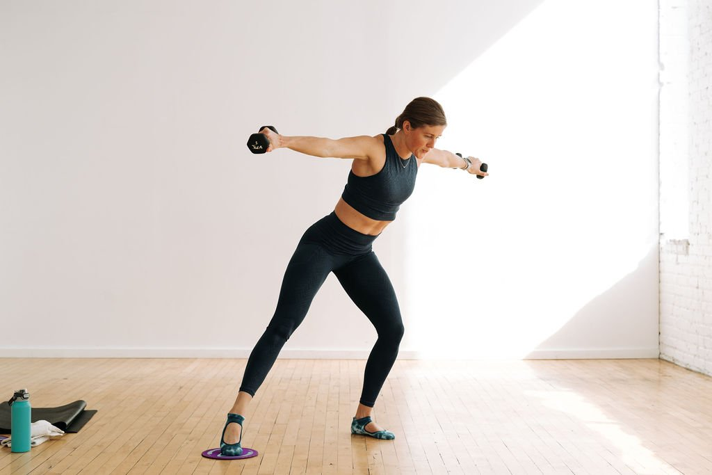 Glider Workout At Home | Cardio Barre with Exercise Sliders