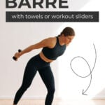 Cardio Barre with Workout Gliders