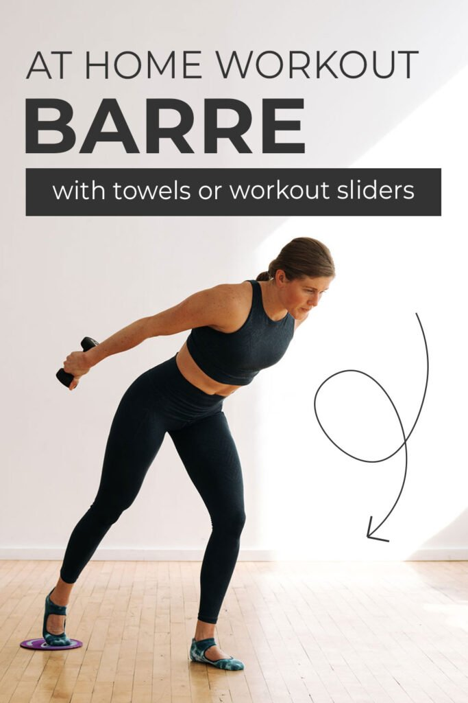 At Home Barre Workout with Glider Discs