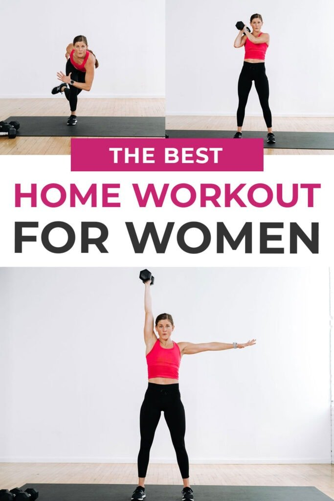 The BEST Strength + HIIT Home Workout for Women