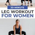 30 Minute Leg Workout for Women