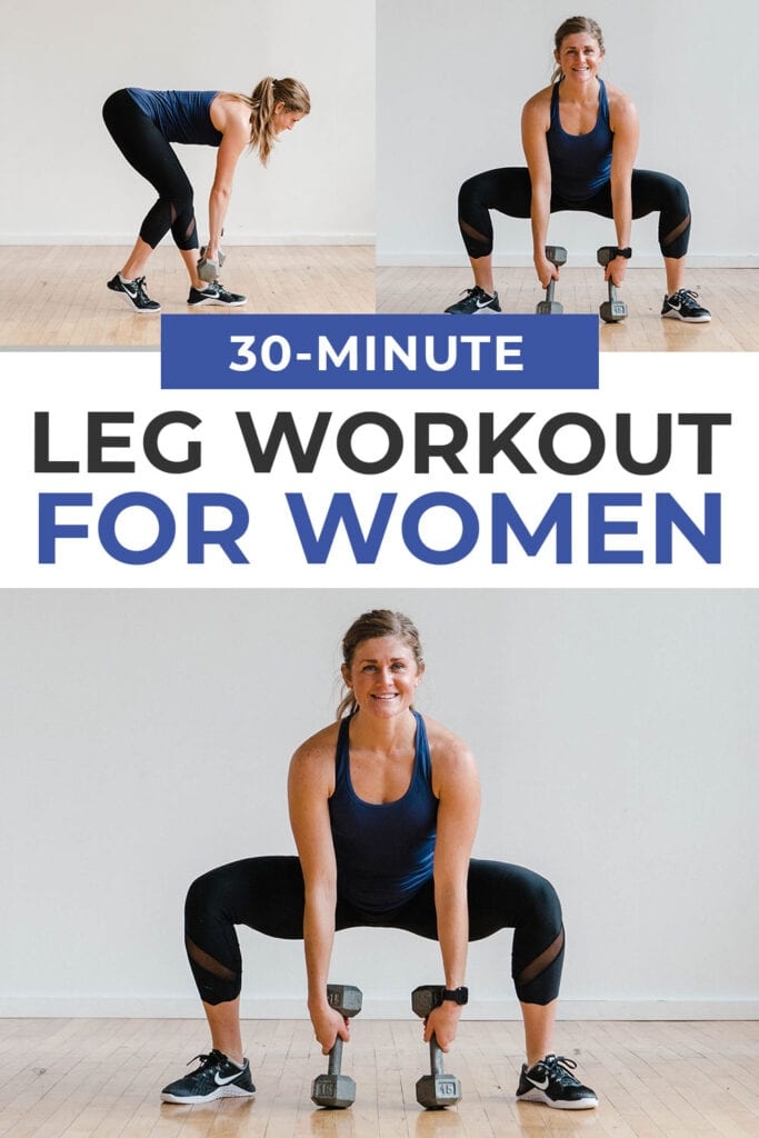 30 Minute Leg Workout for Women At Home