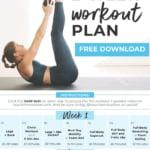 Home Workout Plan Calendar