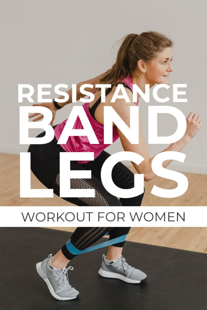 Resistance Band Leg Workout for Women