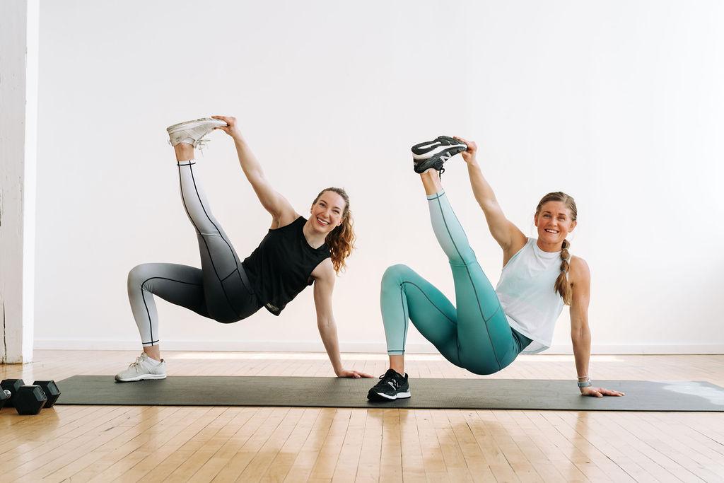 kicksit exercise, functional full body workout