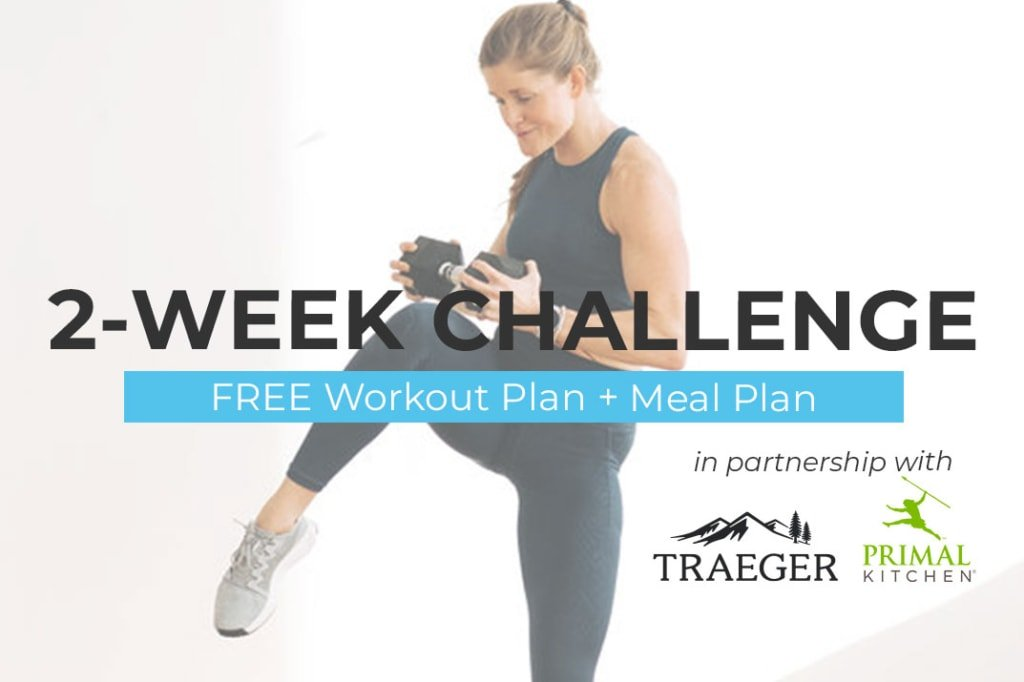 2 week workout challenge and meal plan