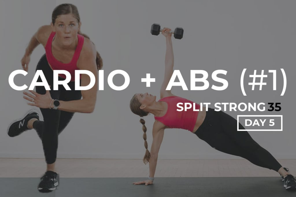 Cardio and Abs workout at home   best ab exercises using weights