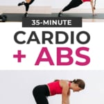 35 Minute Cardio and Abs Workout At Home