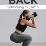 Legs and back workout for womenLegs and back workout for women