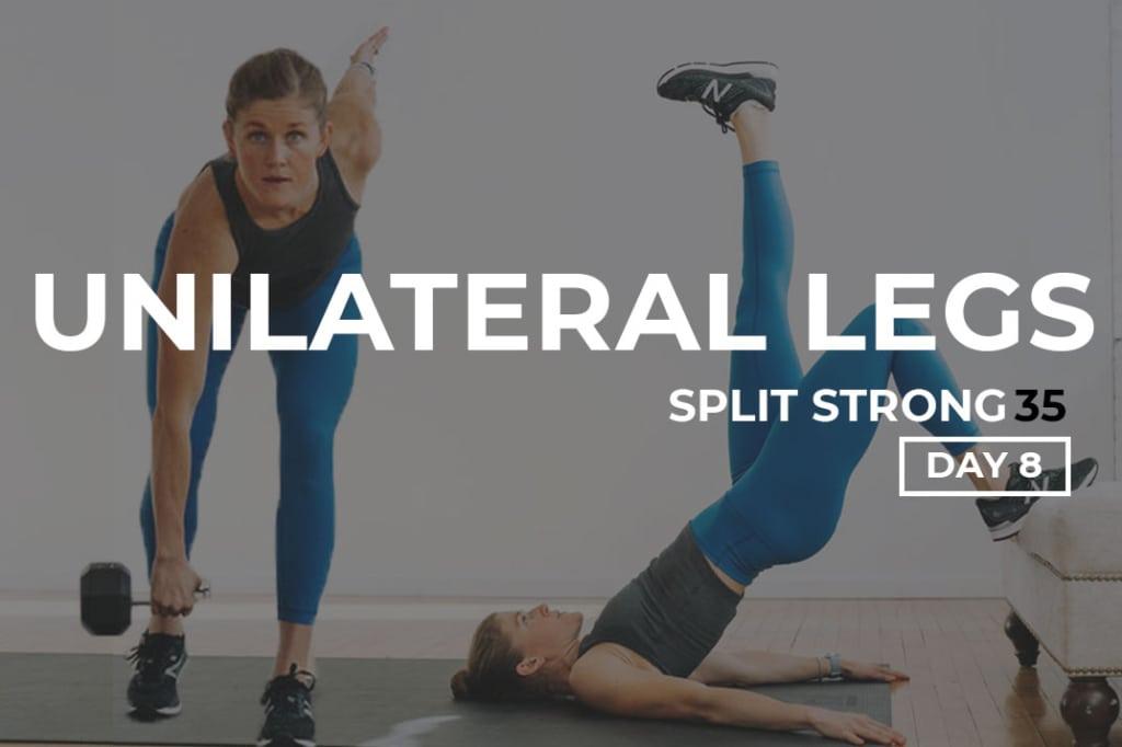Unilateral Leg Workout and Unilateral Leg Exercises Benefits